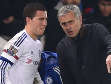 Mourinho: I'd love to have Hazard at Manchester United. Goal