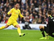 Hazard continues to impress under Maurizio Sarri. GOAL