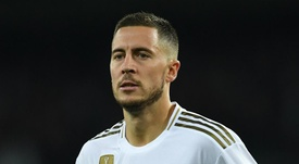 Hazard returns for Real Madrid after more than two months out. GOAL