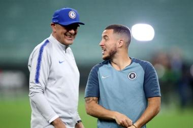 Eden Hazard caused Chelsea issues despite his form. GOAL