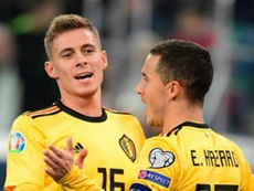 Hazard's Belgium are the FIFA team of the year after winning all their matches in 2019. GOAL