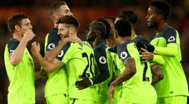 HD Adam Lallana Liverpool celebrate