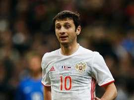 Pas de Dzagoev en Coupe des Confédérations. Goal