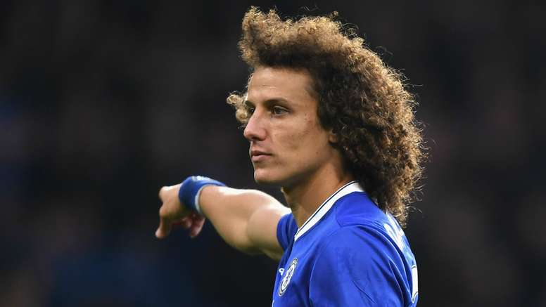 David Luiz talked of his love for Chelsea. Goal