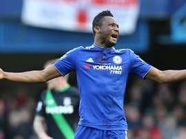 John Obi Mikel, joueur du Chelsea. Goal