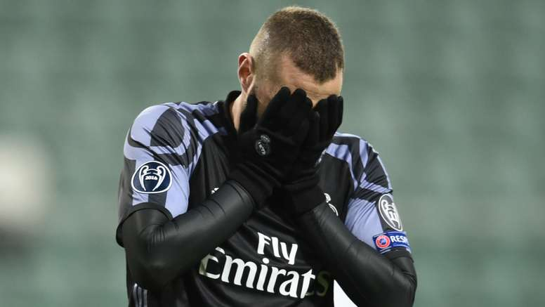 Karim Benzema is sad about the decision. Goal
