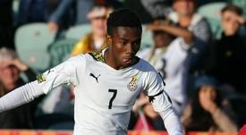 Samuel Tetteh hopes to join Manchester United. Goal