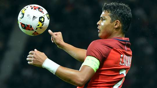 Thiago Silva is one of a number of Brazilians at Paris Saint-Germain. Goal