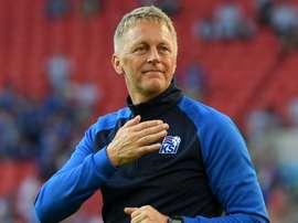 The Icelandic team remain optimistic through it all. GOAL