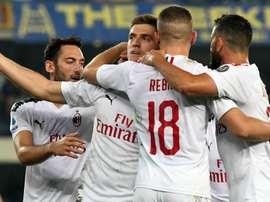 Verona-Milan 0-1: Piatek si sblocca dal dischetto contro un Hellas in 10