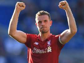 Jordan Henderson thinks Liverpool are on the right track. GOAL