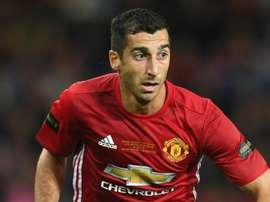 Henrikh Mkhitaryan scored one of the two goals. Goal