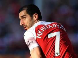 Henrikh Mkhitaryan has been found at the centre of the political spotlight. GOAL