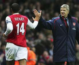 Henry played under the best. GOAL
