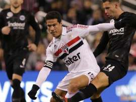São Paulo 1 x 2 Frankfurt: Tricolor não consegue superar adversário