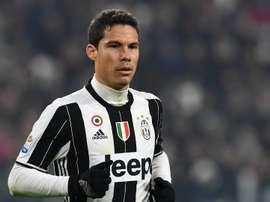 Le joueur de la Juventus, Hernanes dans un match de Serie A. AFP