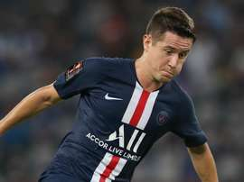 PSG's Herrera to miss up to a month with calf injury. GOAL