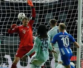 Hertha Berlin 2 x 0 Bayern de Munique