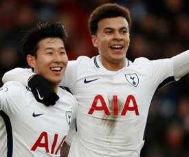 Tottenham a infligé une correction à Bournemouth. Goal