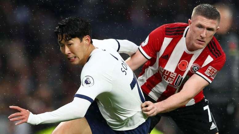 Tottenham de nouveau accroché. AFP