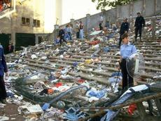 Tragédia de Heysel, o massacre que mudou o futebol europeu. EFE