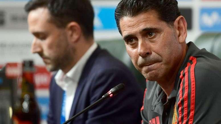 Hierro, o novo selecionador espanhol. Goal