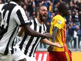 Higuain, Juventus-Benevento, Serie A. GOAL