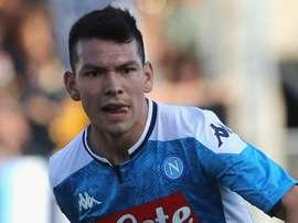 Prima stagione in Italia per l'ex PSV Lozano. Goal