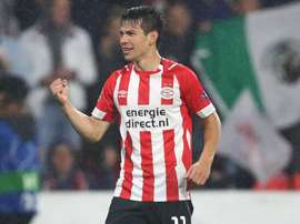 Hirving Lozano PSV Champions League 2018. Goal