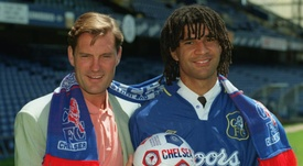 Gullit took over at Chelsea after playing for them. GOAL