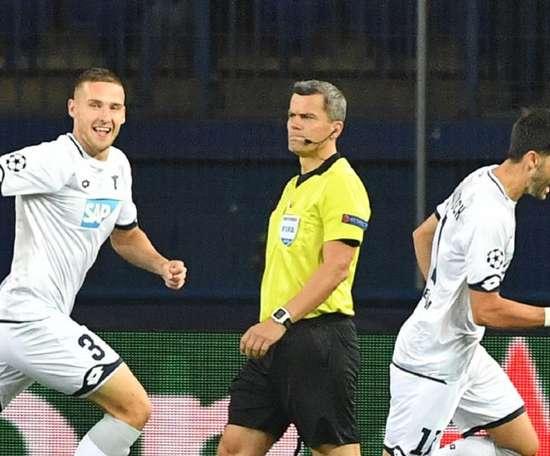 Hoffenheim ramène un point d'Ukraine. Goal
