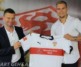 Holger Badstuber s'est engagé avec Stuttgart pour une saison. VfBStuttgart