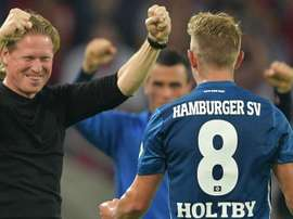 Lewis Holtby scored in the 100th minute on Friday night. GOAL