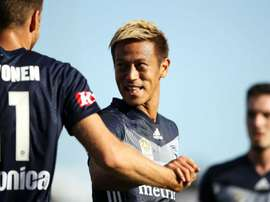 Melbourne victory star Honda has picked up an injury. GOAL