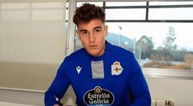 Real Madrid loan Hugo Vallejo to Deportivo La Coruna. GOAL