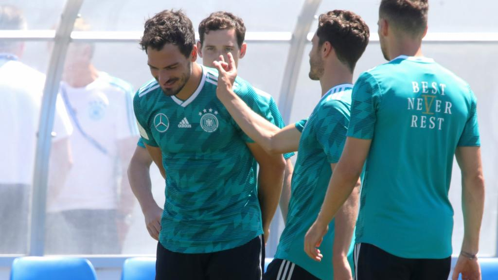 Germany set to be without Hummels against Sweden