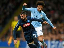 Hysaj was full of praise for Leroy Sane. AFP