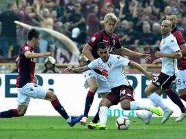 Iago Falque Bologna Torino Serie A. GOAL