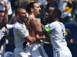 Ibra has worked his magic on the MLS. GOAL