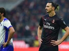 Milan-Sampdoria 0-0: esordio per Ibrahimovic, ma il Diavolo non ingrana