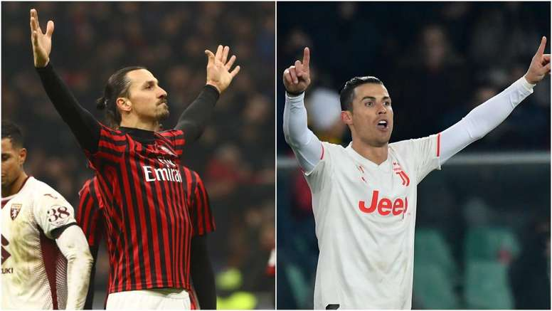 Ibrahimovic and Cristiano go head to head once again on Thursday evening. GOAL
