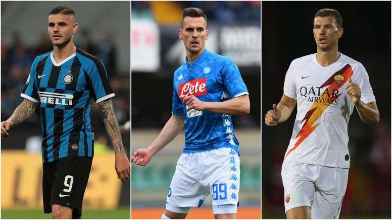 Icardi al Napoli, Milik alla Roma, Dzeko all'Inter: alleanza anti Juventus