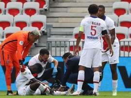 Idrissa Gueye sort sur blessure.goal