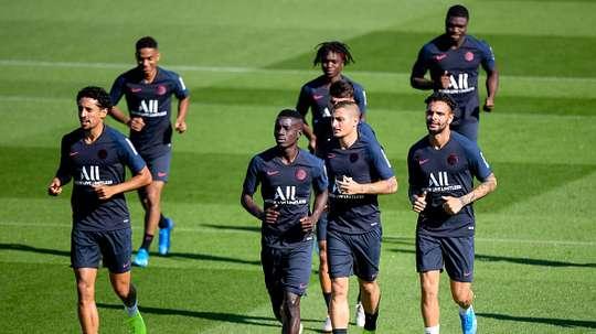 PSG : une grosse semaine avec Bruges et le Classique contre l'OM. AFP