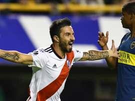 Ignacio Scocco River. Goal