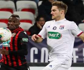 Lyon prend le quart et recevra Marseille en quart de finale. GOAL