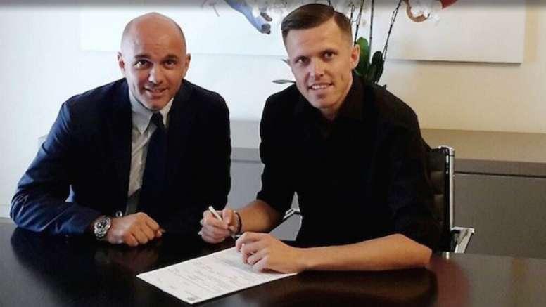 Josip Ilicic has joined Atalanta. GOAL