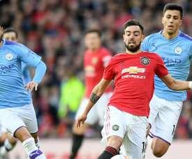 Gundogan accusa Bruno Fernandes dopo il derby di Manchester. GOAL