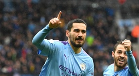 Guardiola: 'Exceptional' Gundogan one of the best players in Europe. AFP