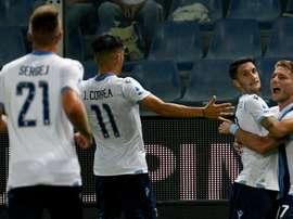 La Lazio supera la Sampdoria. Goal